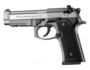 Beretta 92 M9A3/Vertec: Checkered G10 Grip Panels - Solid Black