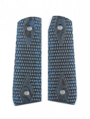 Ruger MK III 22/45 RP Piranha Grip G10 - G-Mascus Blue Lava