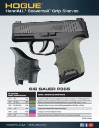 SIG Sauer P365 Beavertail Grips