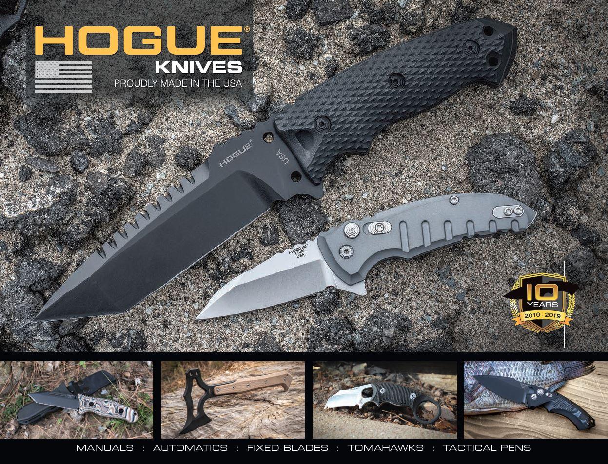 Hogue Knives Catalog Cover