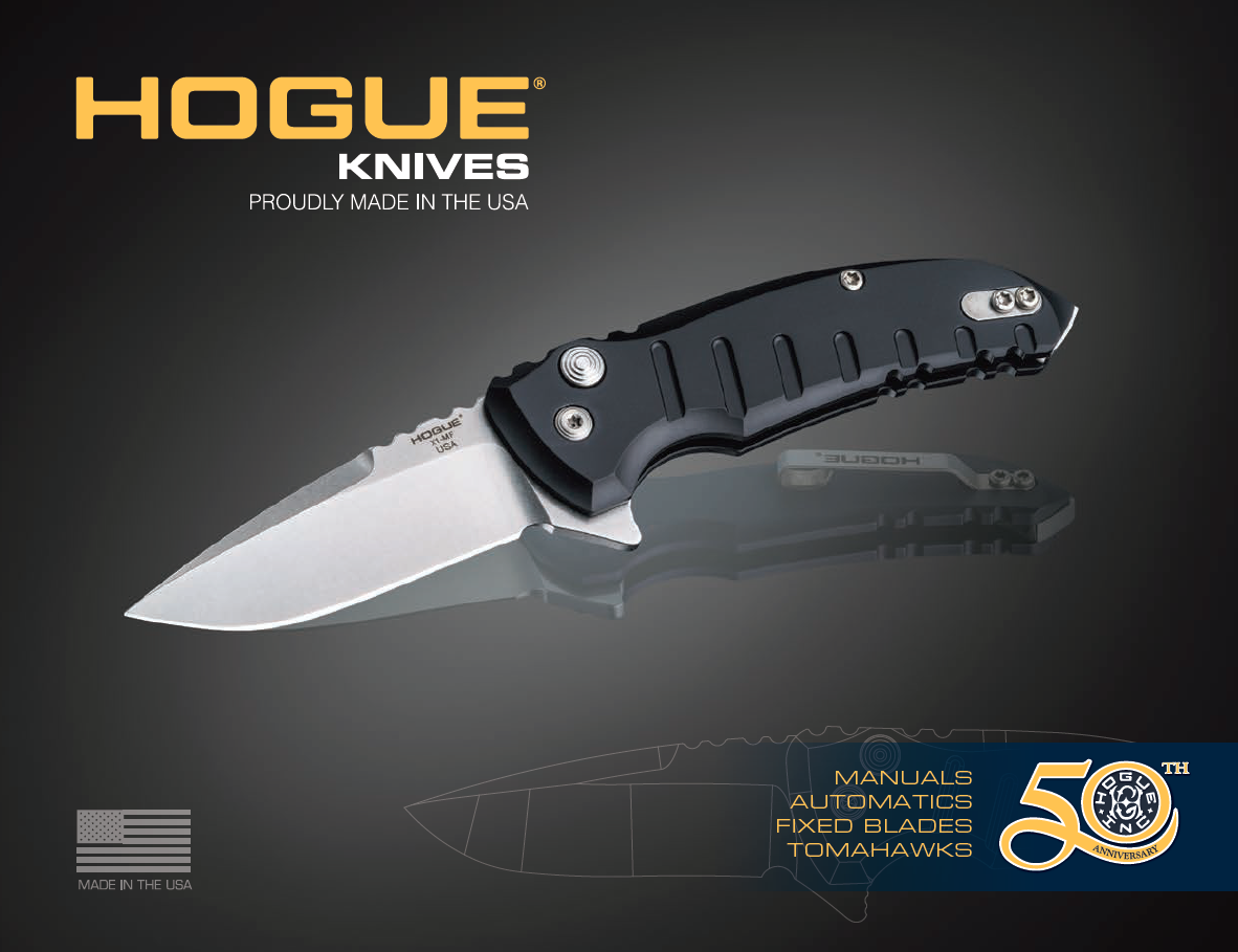 Knife Catalog Cover