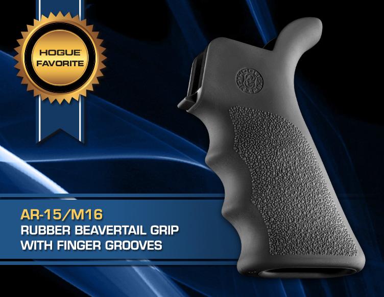 Hogue Favorites AR-15 Beavertail grip