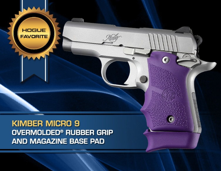 Hogue Favorites Kimber Micro 9 Rubber