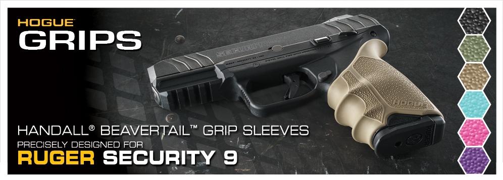 Ruger Security 9 Beavertail Grip